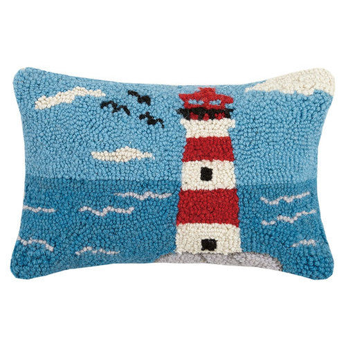 Lighthouse Hooked Cushion