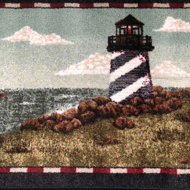 Non Slip Lighthouse Rug