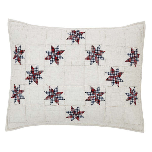 Lincoln 8 Point Star Pillow Sham