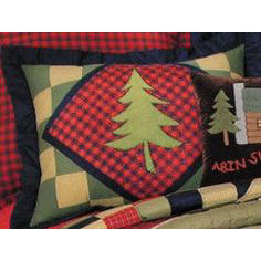 Lodge Animals Quilted Pillowcase