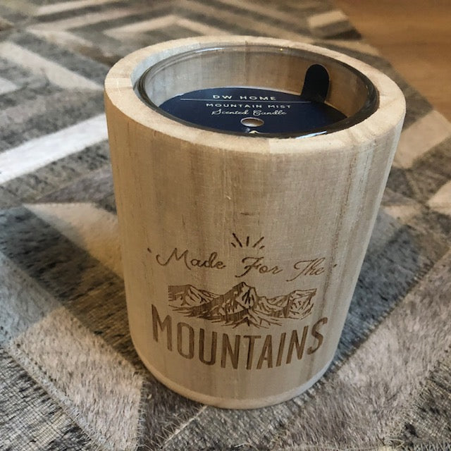 Made in the Mountains Mountain Mist Candle