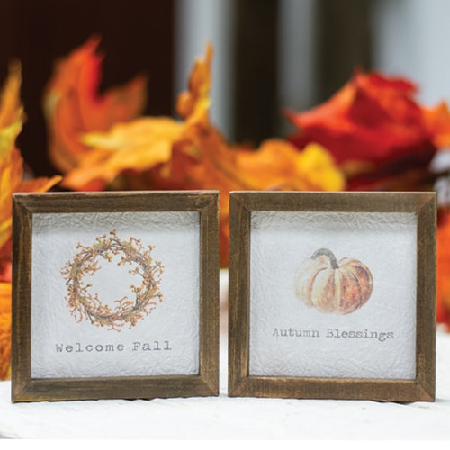 Framed Fall Watercolour Prints