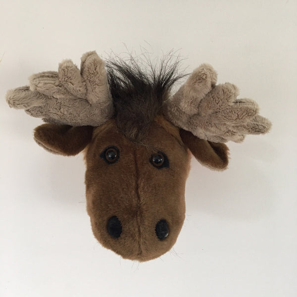 Plush Moose Trophy Head