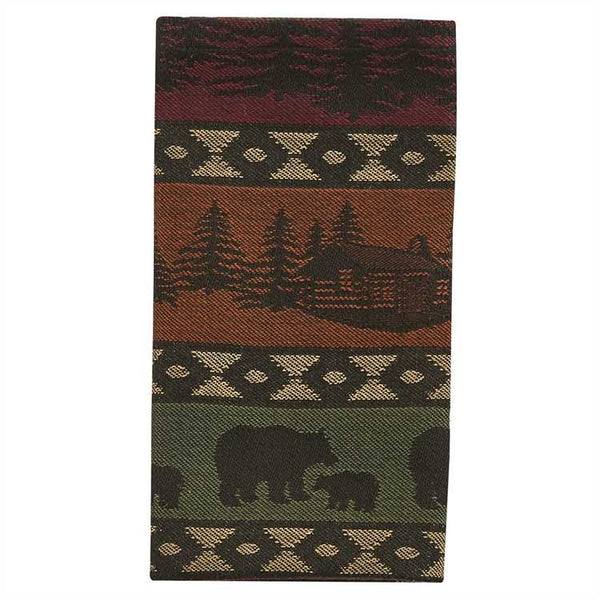Mountain Bear and Trees Napkins UK
