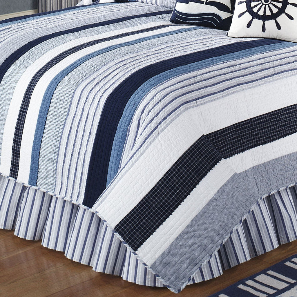 Nantucket Quilted Bedspread UK