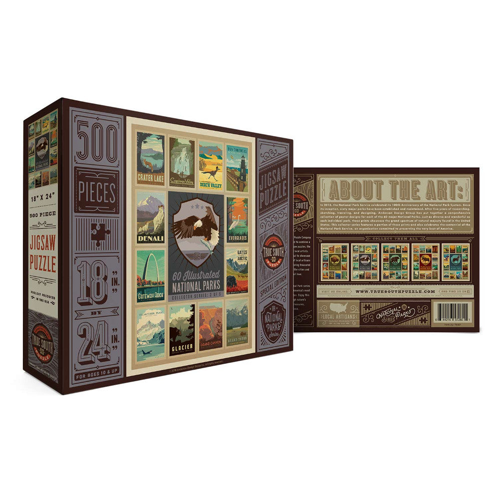 National Park Series Eagle Jigsaws in the UK