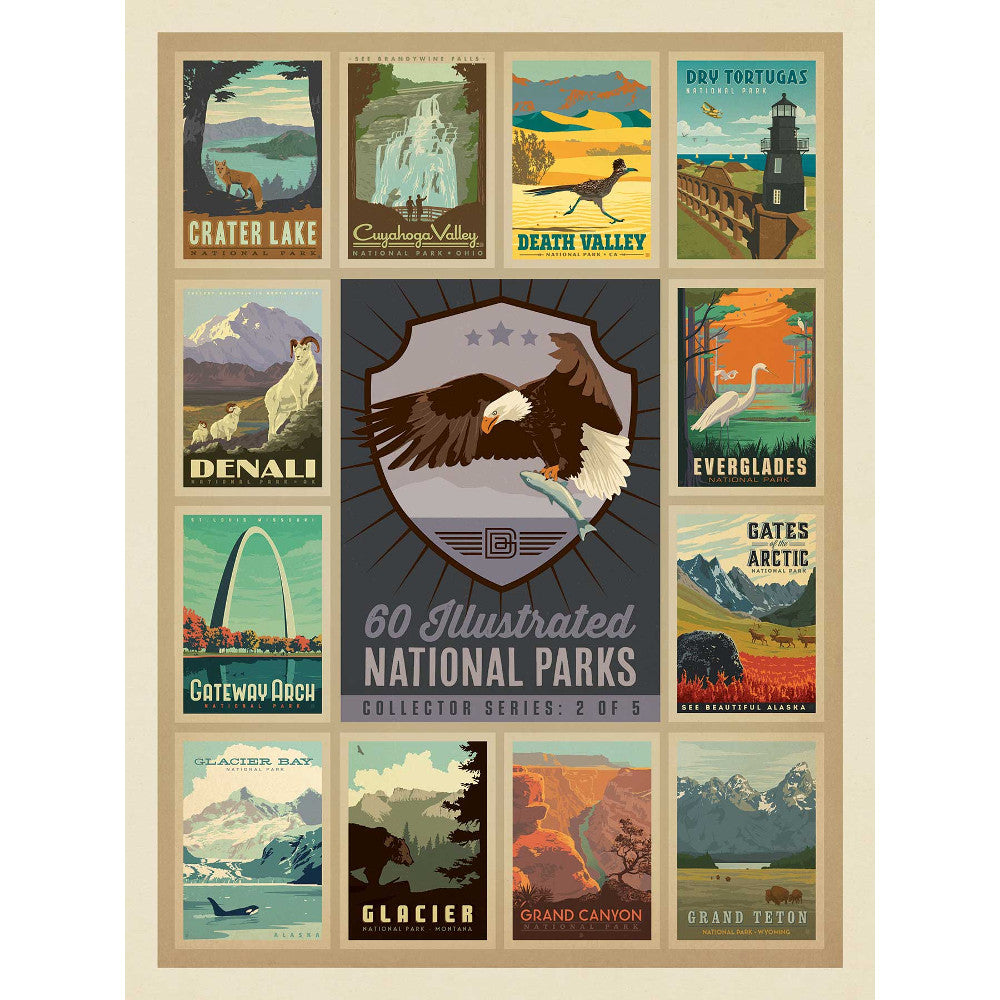 National Park Series Eagle Jigsaw Puzzles UK