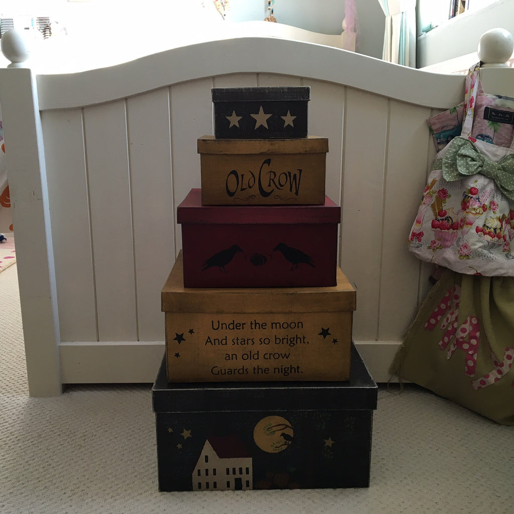 Old Crow Shaker Box Set