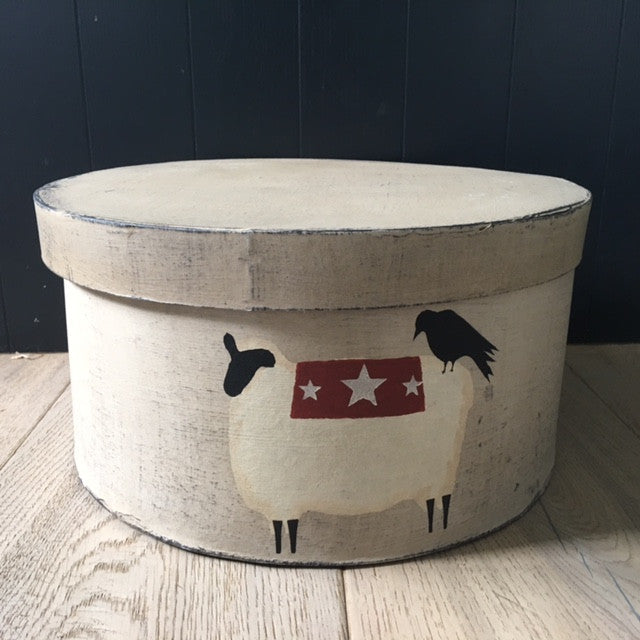Sheep Homestead Shaker Box UK