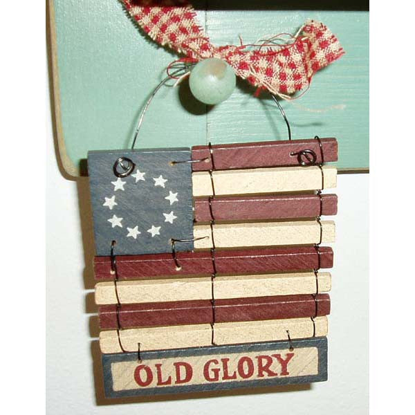 Old glory Flag Hanger