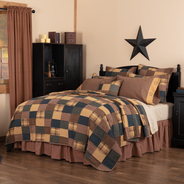 Patriotic Country Style Patchwork Bedding
