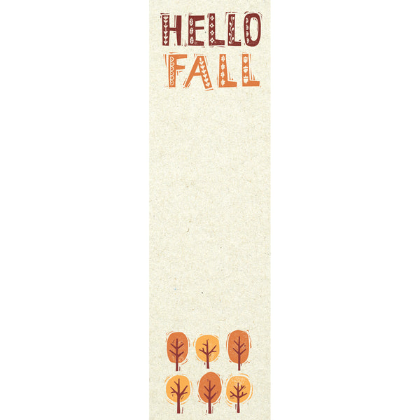 Hello Fall List Pad