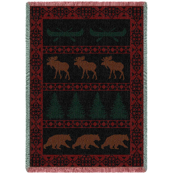 North Country Woven Throw Blanket