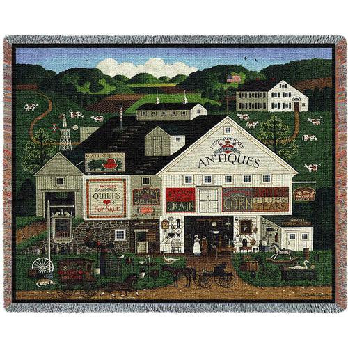 Peppercricket Farms © Charles Wysocki Throw