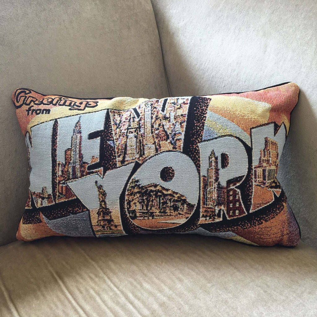 Greetings from New York Cushion