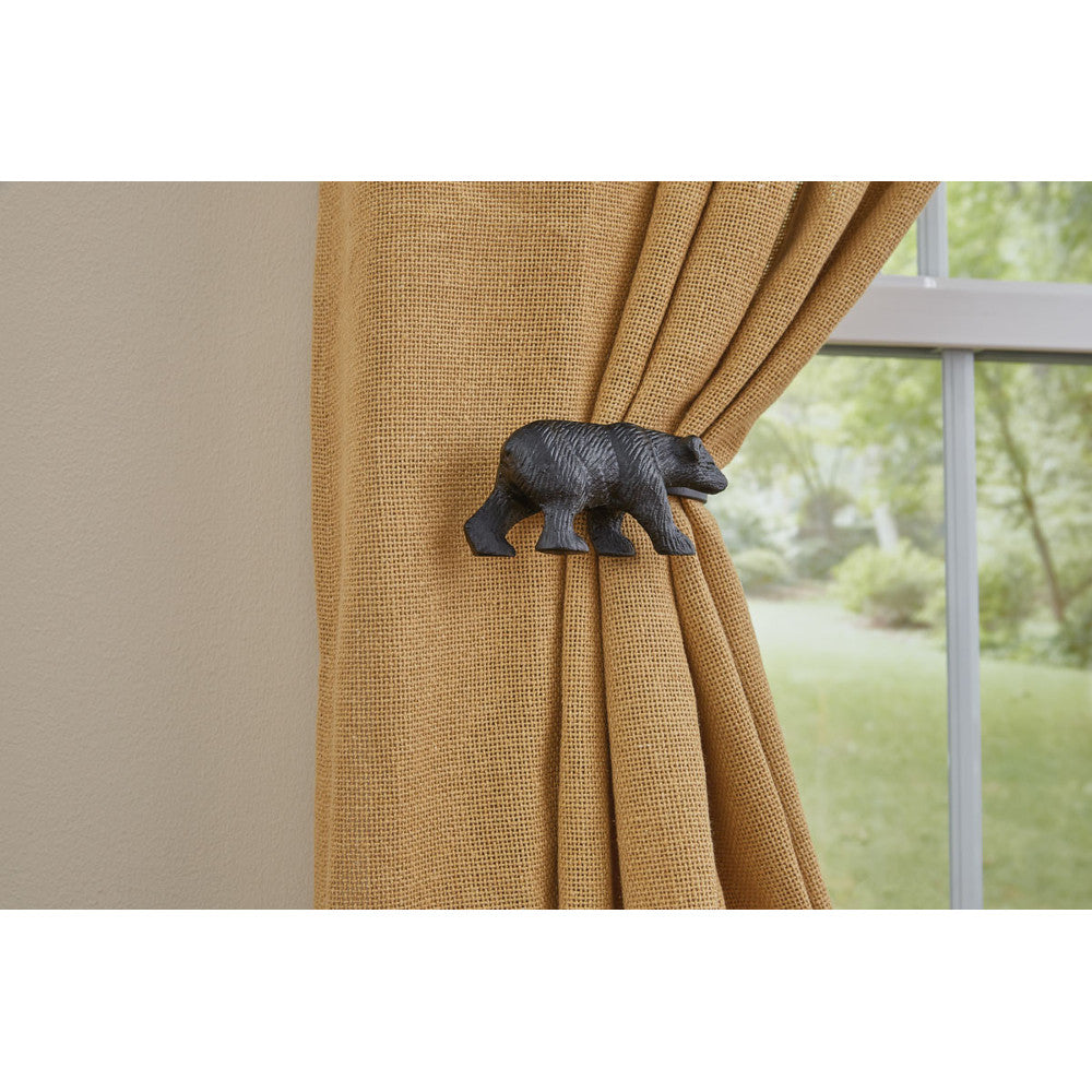 Bear Curtain Tie Backs