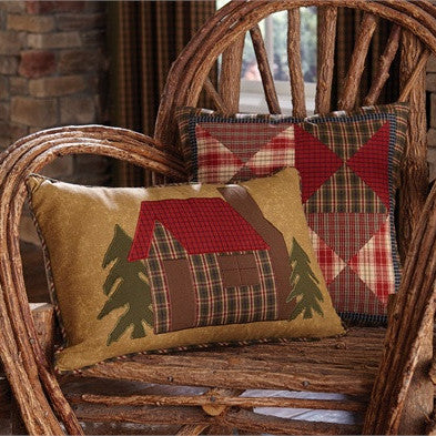 Log Cabin Cushion