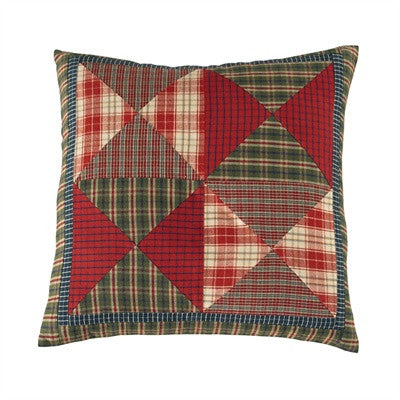 Cabin Checks Patchwork Cushion