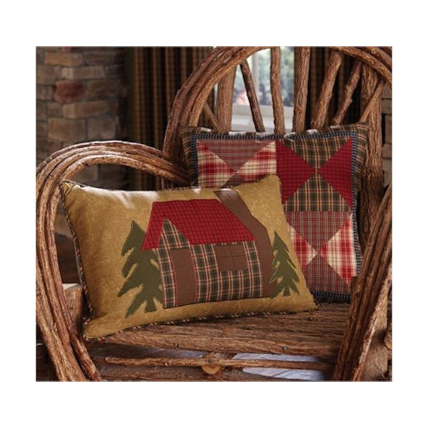 Log Cabin Cushions