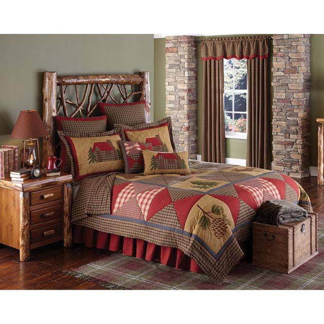 Log Cabin Bedding Collection