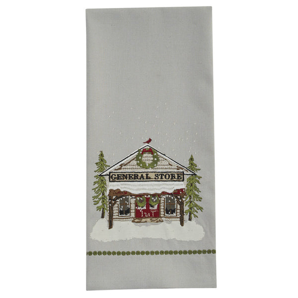 General Store Embroidered Towel