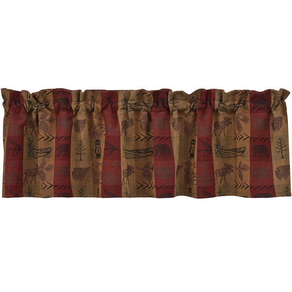 High Country Lodge Style Window Valance