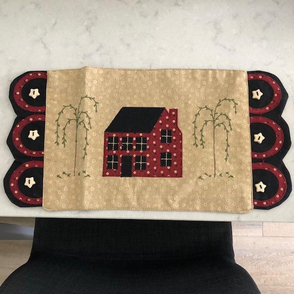 Saltbox and Willow Tree Accent Mat