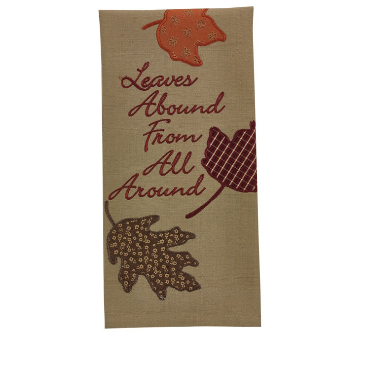 Leaves Abound Fall Towel
