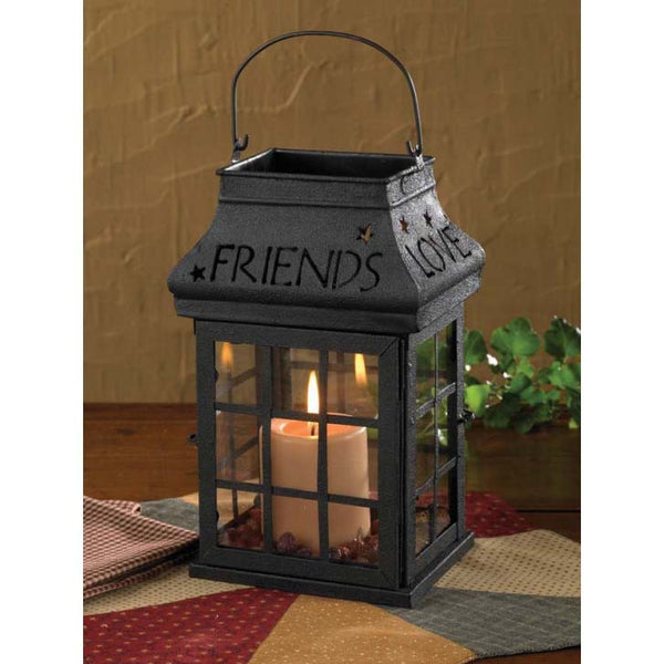 Love, Home, Family Friends Lantern