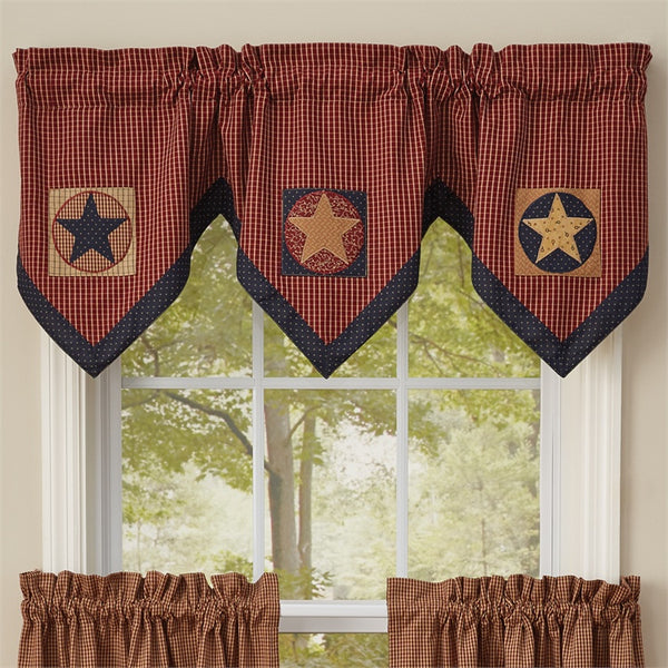 Montclair Triple Point Lined Window Valance UK