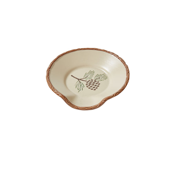 Pinecroft Spoon Rest with Pine Cone