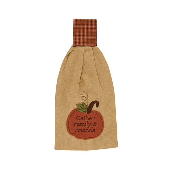 Pumpkin Patch Hand Towel