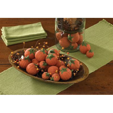 Mini Decorative Pumpkin Rag Balls