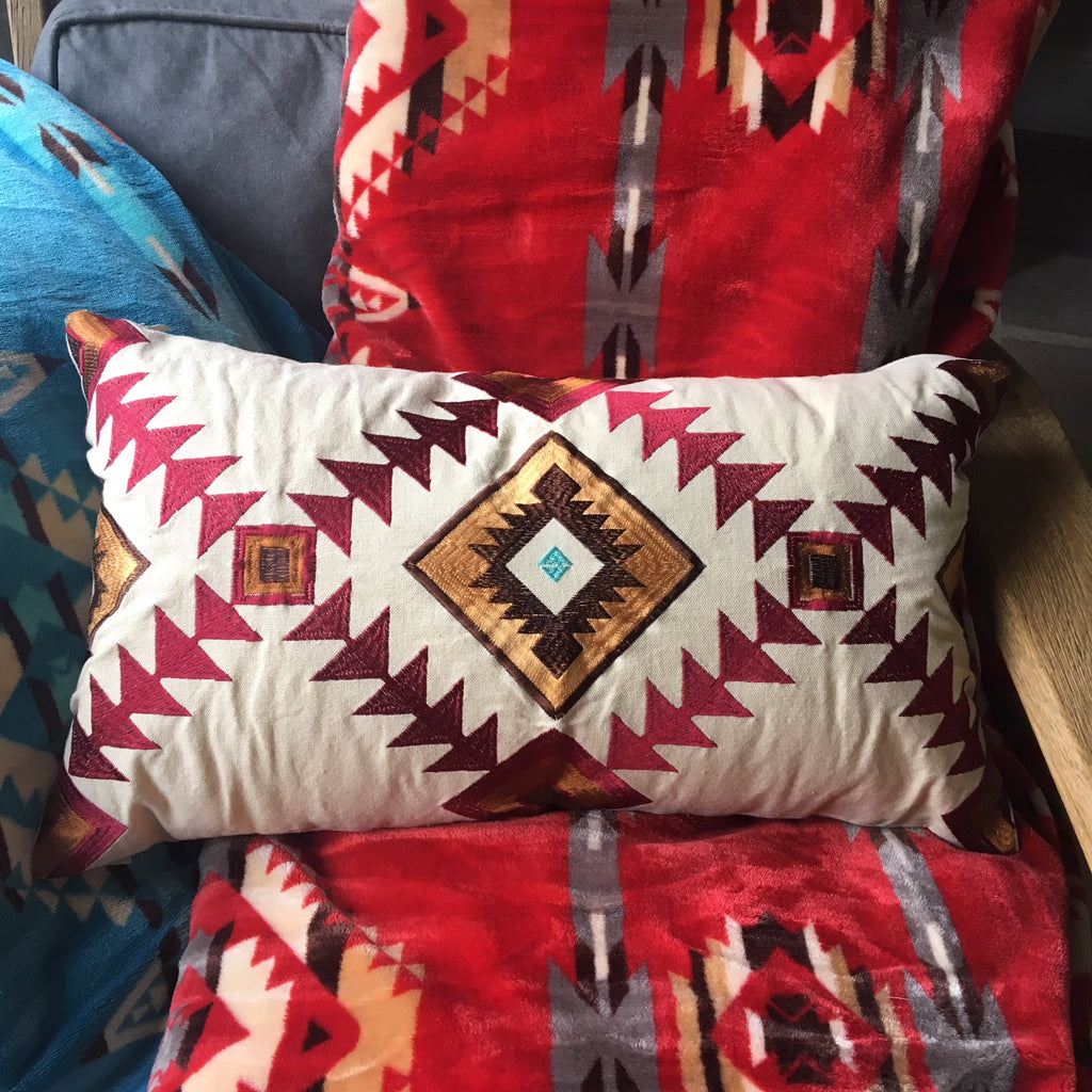 Southwestern Embroidered Cushion