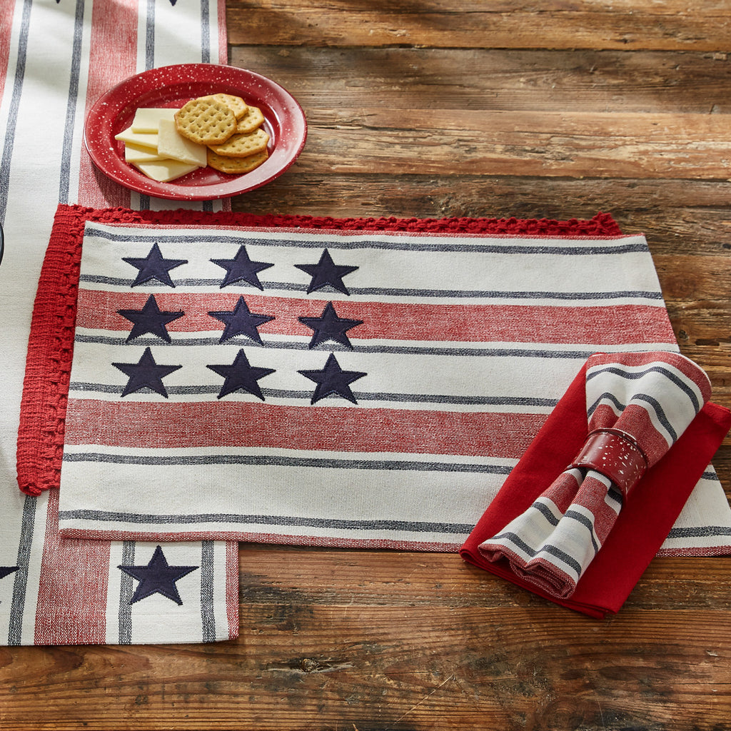 Stars and Stripes American Linens Collection