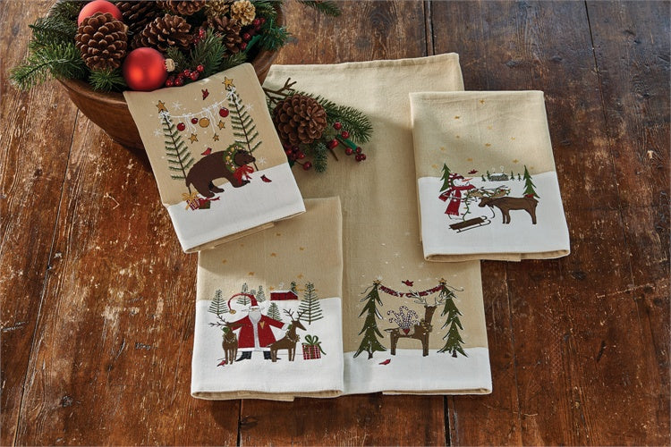 Merry Christmas Deer Towel