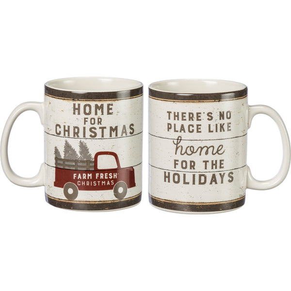 Home for Christmas There's No Place Like Home Mug