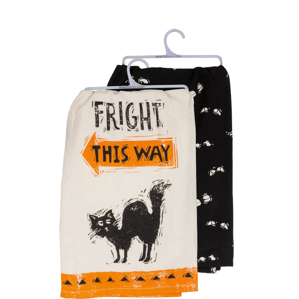 Fright This Way Halloween Towel Set