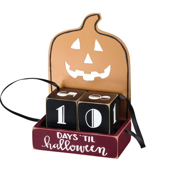 Halloween Countdown Blocks