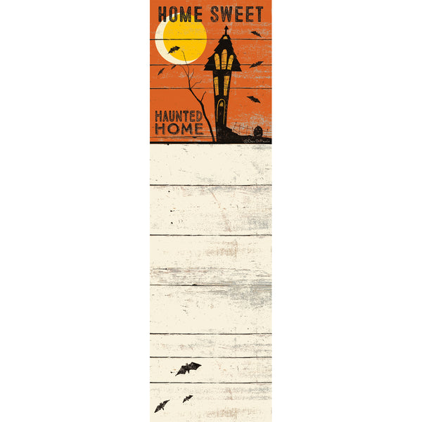 Home Sweet Haunted Home Magnetic Notepad