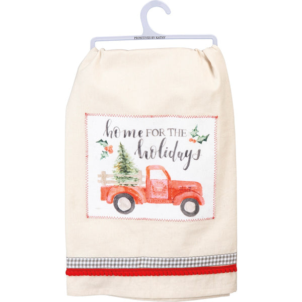 Home for the Holidays Truck Towel