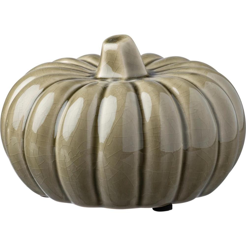 Medium Grey Ceramic Pumpkin UK
