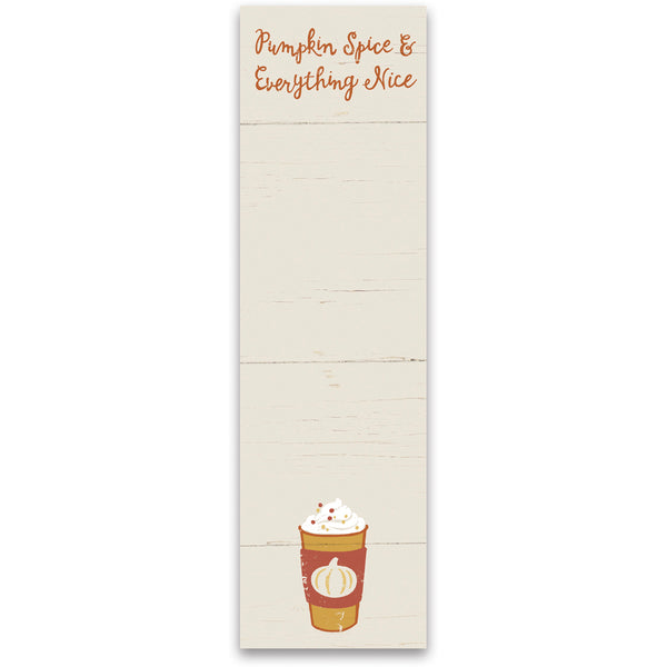 Pumpkin Spice Magnetic Notepad