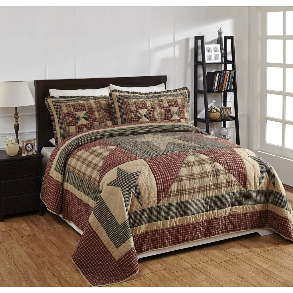 Plymouth Star Quilt Set