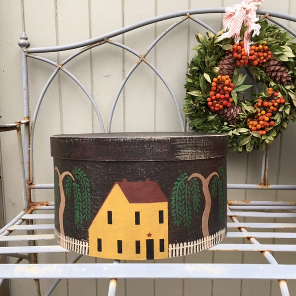 Willow Saltbox Homestead Shaker Style Box