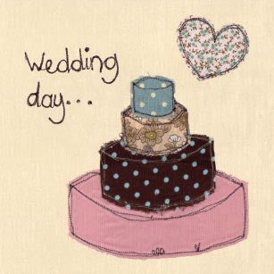 Poppy Treffry Wedding Day Card