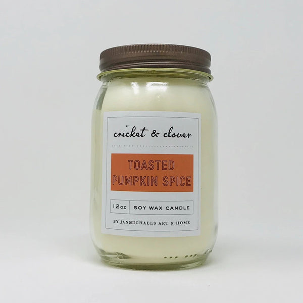 Toasted Pumpkin Spice Soy Candle