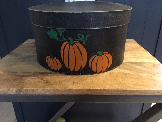 Pumpkin Patch Shaker Box