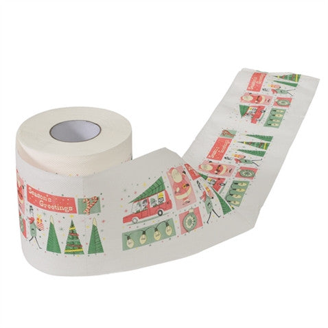 Season's Greeting Toilet Roll
