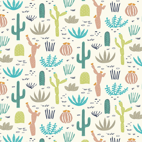 Desert Cactus Wrapping Paper